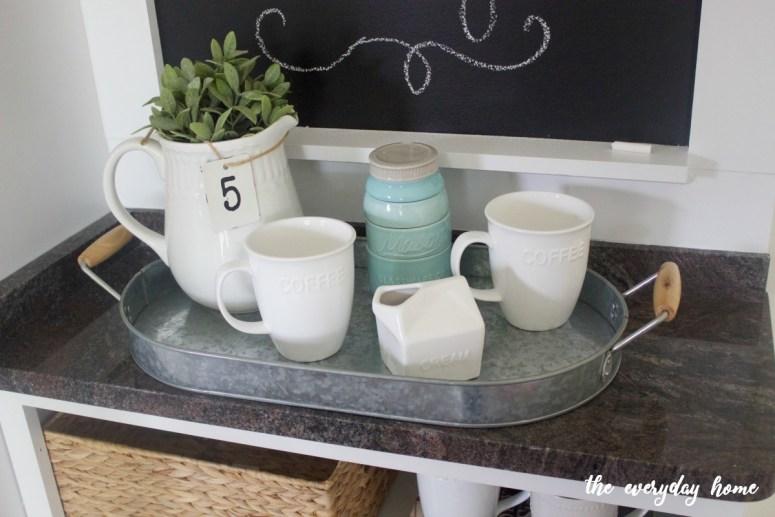 Custom DIY Chalkboard | The Everyday Home | www.everydayhomeblog.com