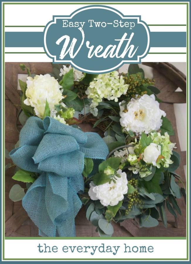 Easy DIY Wreath | The Everyday Home | www.everydayhomeblog.com