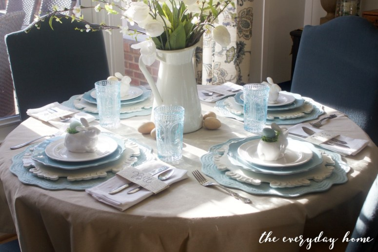 Spring Kitchen Tour   Easter Table Setting   The Everyday Home