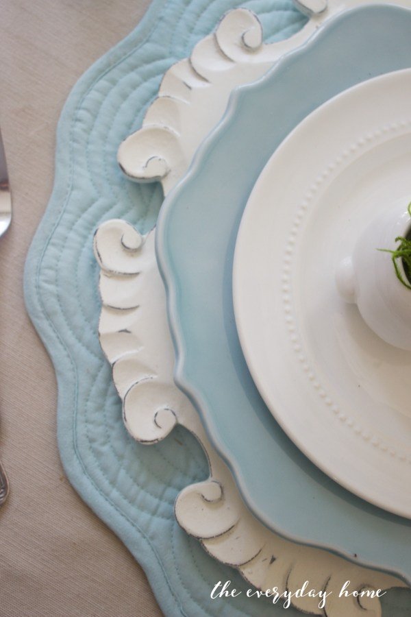 Spring Kitchen Tour   Placesetting   The Everyday Home