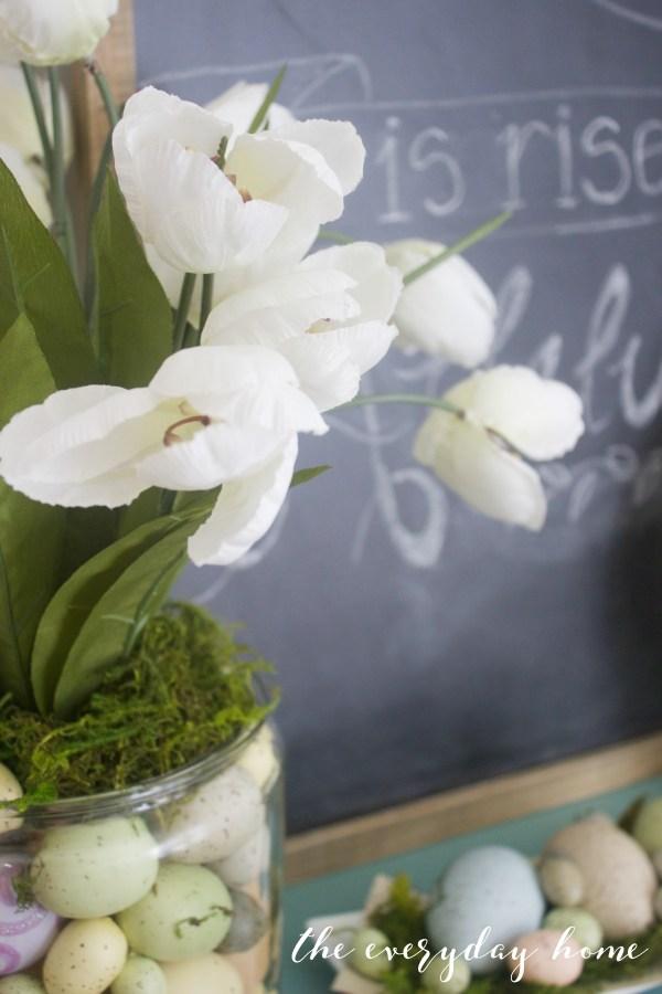 Spring Kitchen Tour   White Tulips   The Everyday Home
