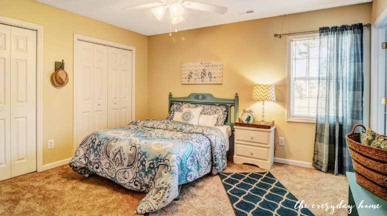 Bedroom After - Flip House | The Everyday Home