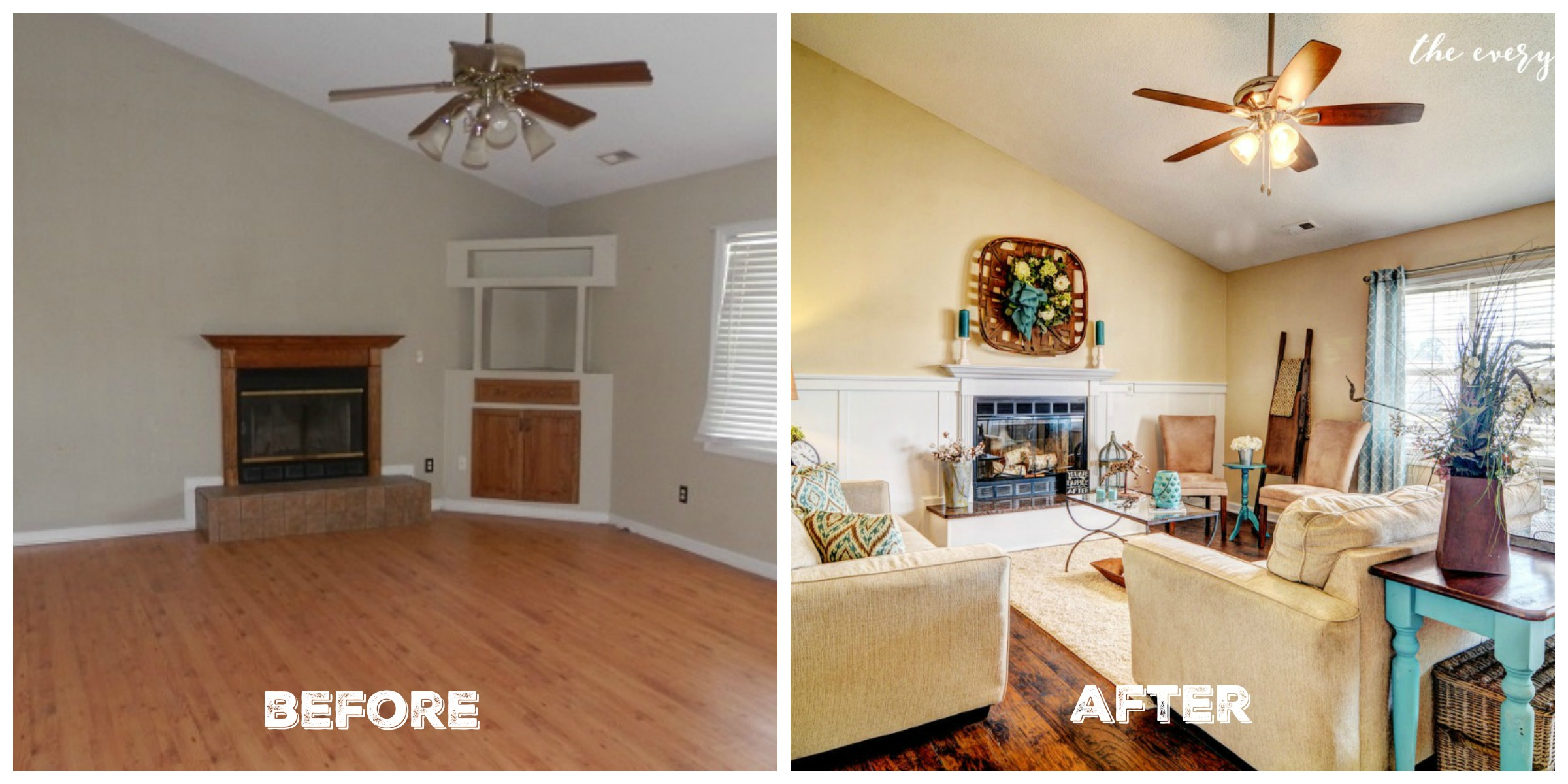 fixer upper before and after living room before and after fixer the everyday home 566