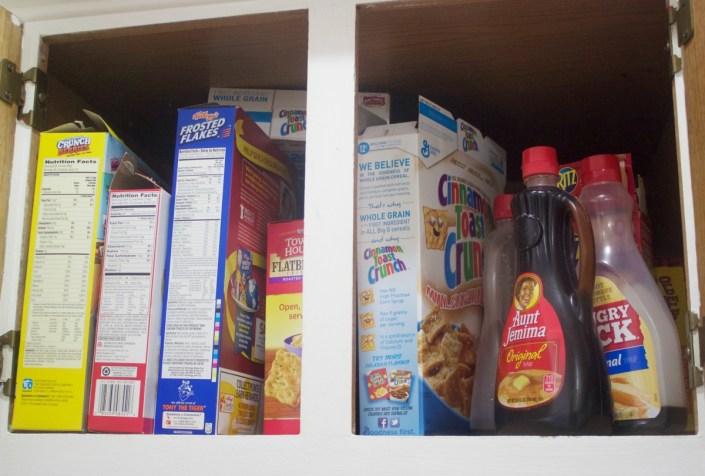 Cereal Cabinet Before   The Everyday Home