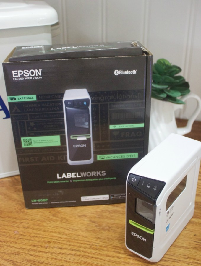 Epson Label Maker   The Everyday Home