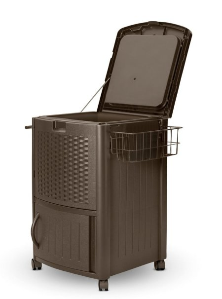 Resin Wicker Cooler