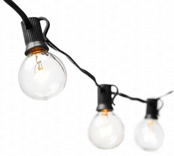 25-Bulb Bistro Lights
