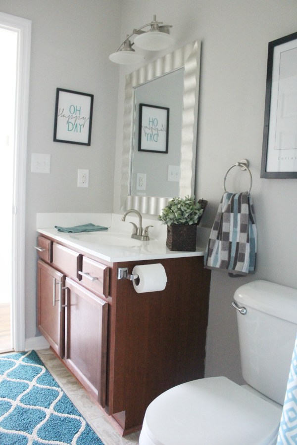 113 Gamble Guest Bath After | The Everyday Home