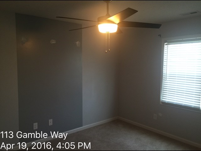 113 Gamble Way Guest Bed Before