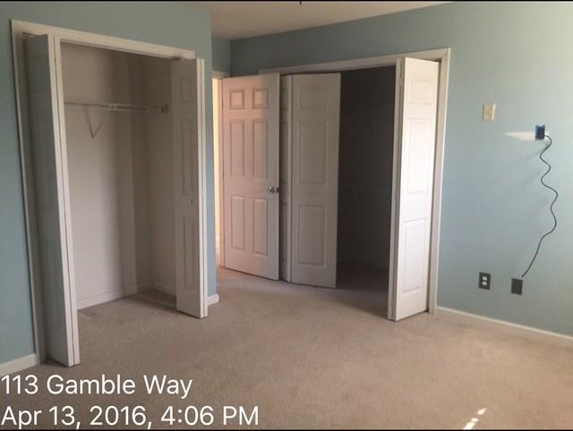 113 Gamble Way Master Bedroom Before