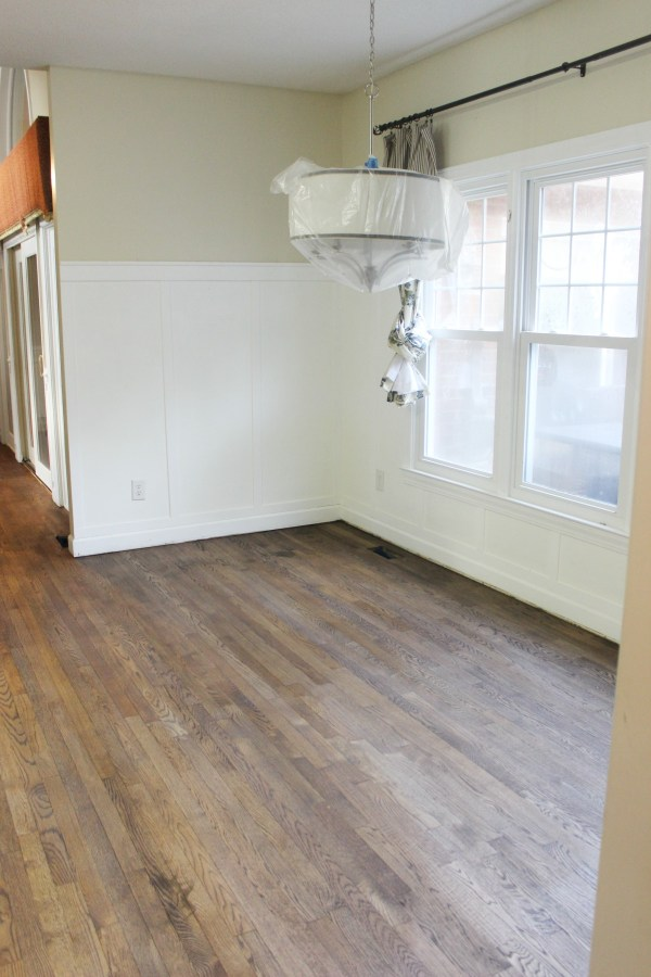 After Floor Refinishing Breakfast Room | The Everyday Home