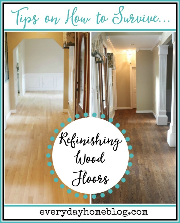Tips on Surviving Refinishing Wood Floors | The Everyday Home