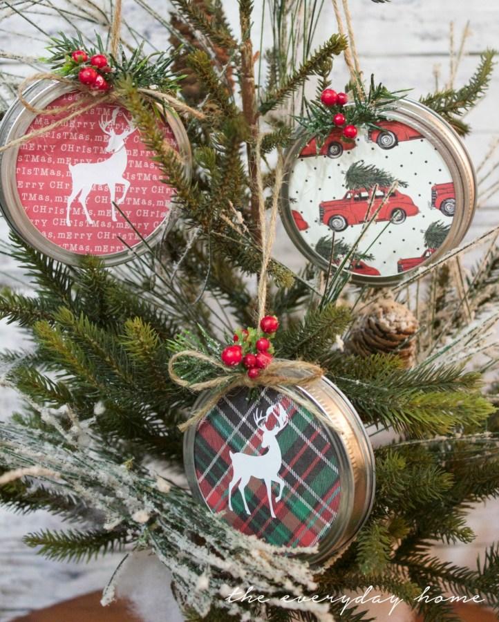 making-mason-jar-lid-christmas-ornaments   The Everyday Home   www.everydayhomeblog.com