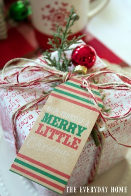 Jolly 'Ole Santa Christmas Tablecape
