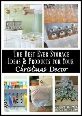 Best Ever Storage Ideas & Products for Your Christmas Decor