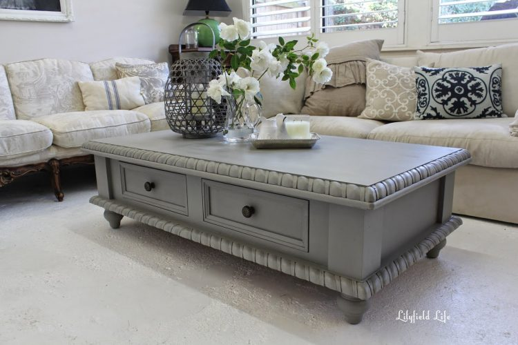 15 painted coffee tables the everyday