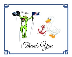 Frog + Duck Thank You