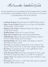 Lakeside Wedding - MKE Guide
