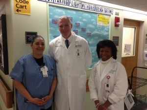 I recently met with Lorna and Carmen, two of the many innovators on 6 West.