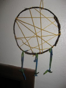 Catching Nightmares in a Dream Catcher