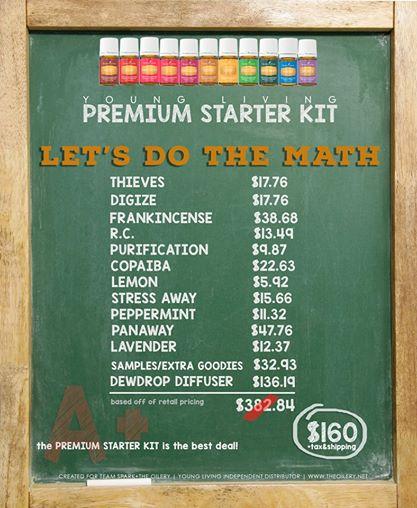 Premium Starter Kit Discount.Dewdrop