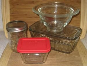 Zero-Waste, Plastic-Free Leftover Storage