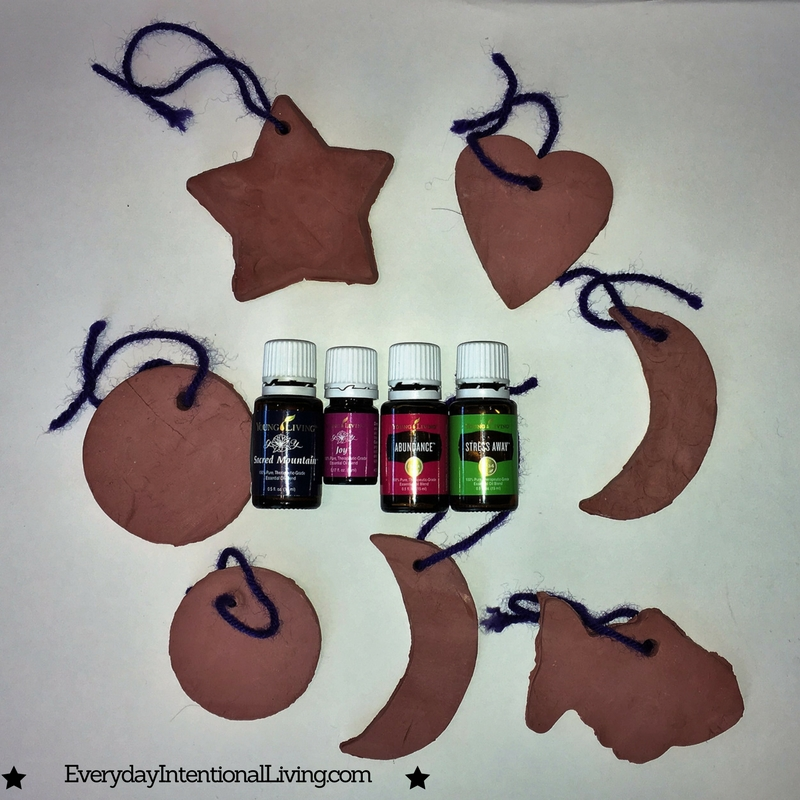 Clay Diffuser Ornaments