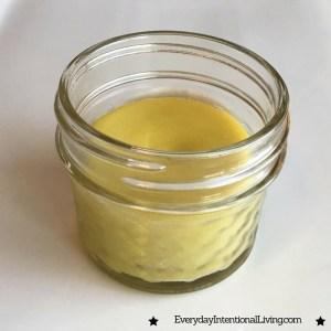 Homemade Healing Skin Salve