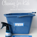 Free Cleaning for Kids Printables