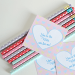 You're the 'Write' One Valentine's Day Pencil Printable