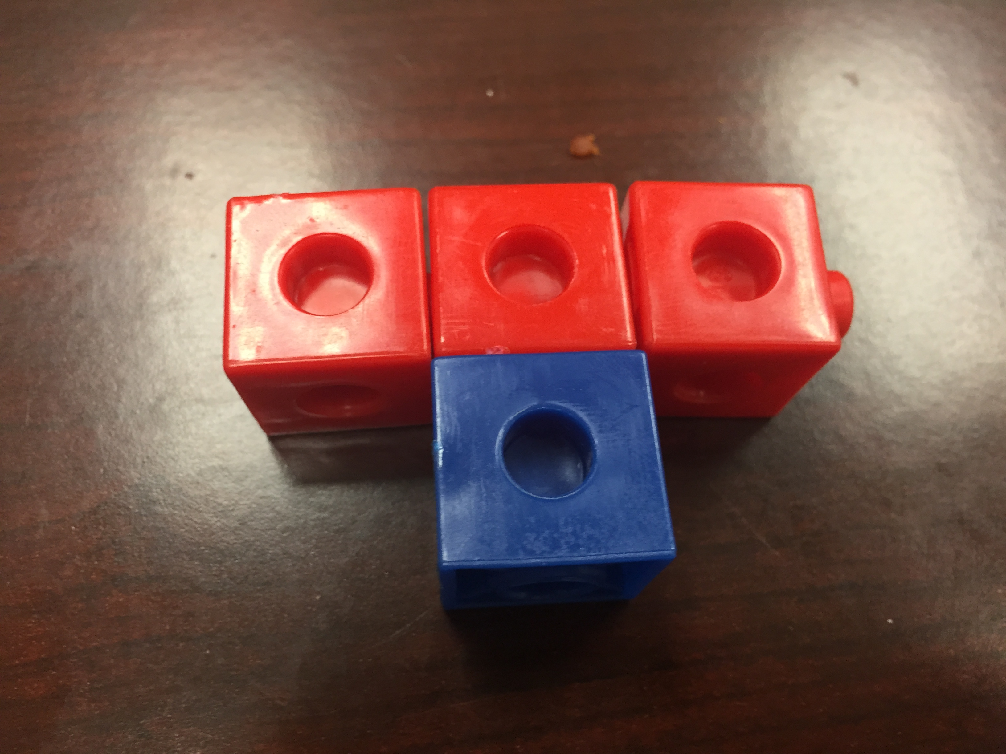 Fractions And Unifix Cubes