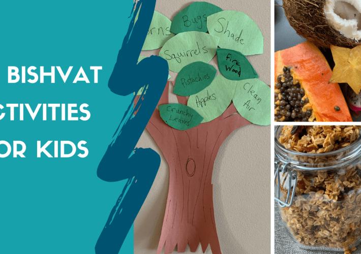 Tu Bishvat Activities for Kids