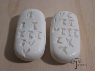 Ten Commandments Soap Craft