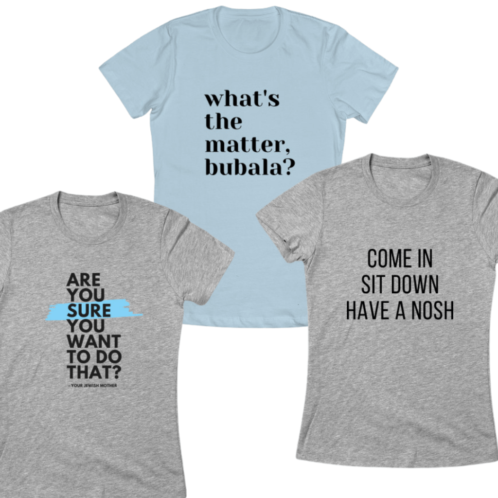 Jewish mom tshirts