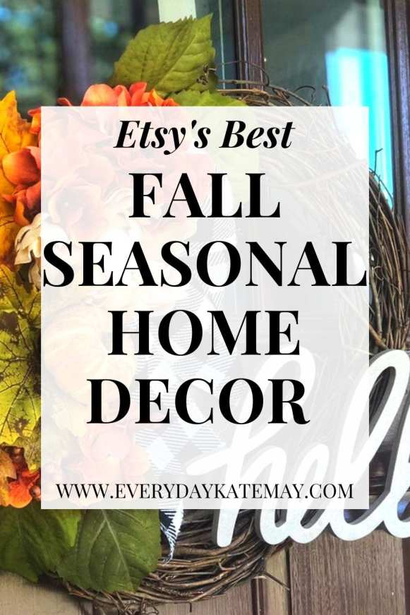 Fall Etsy Home Decor