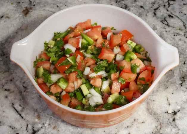 Simple and Healthy Pico de Gallo Salsa