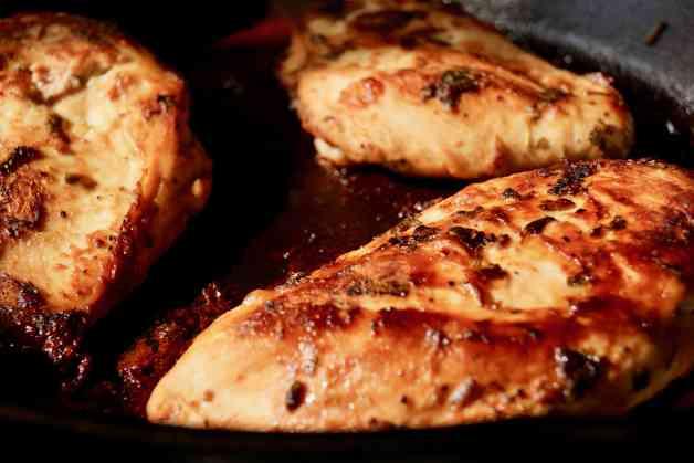 Pan Seared Cilantro Lime Chicken