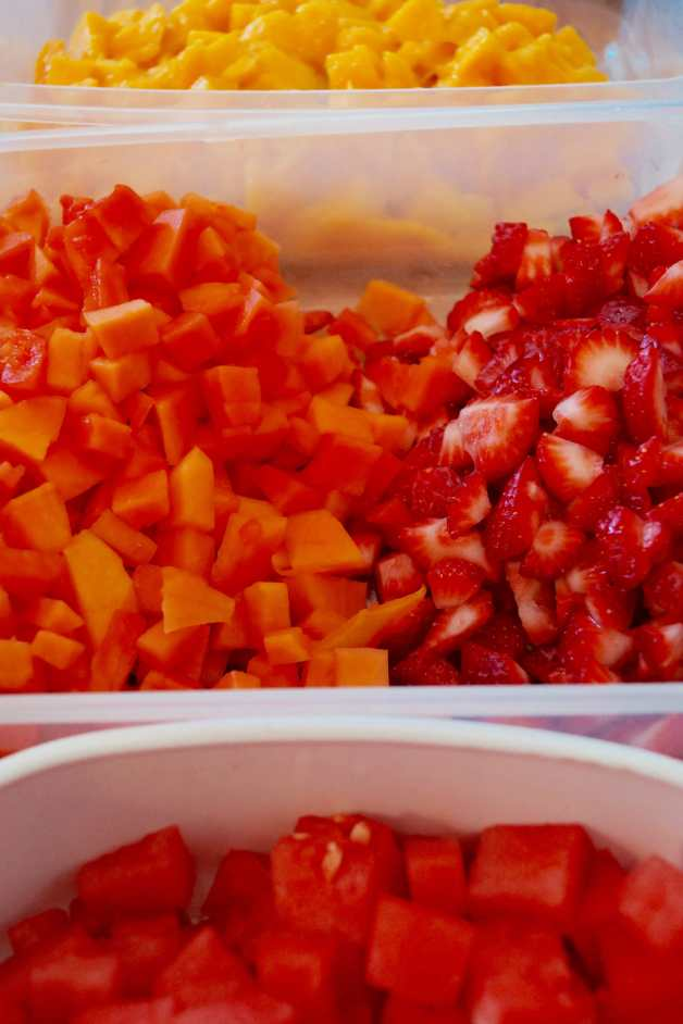 fruit salad ingredients #fruitsalad