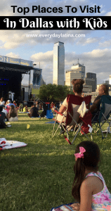 Pinterest Pin for Top Places to Visit in Dallas with Kids