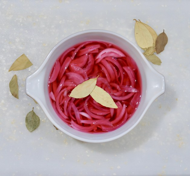 Tangy and Sweet Pickled Red Onions