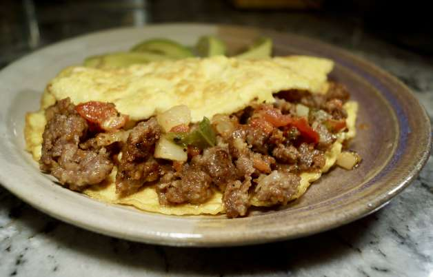 Spicy Ground Pork Omelet #porkomelet