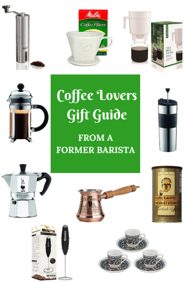 Coffee Lovers Gift Guide from a Former Barista