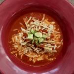 sopa de tortilla Azteca (tortilla soup) #sopadetortillaazteca #tortillasoup