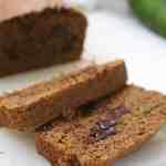 Whole wheat maple zucchini bread #zucchinibread #wholewheatzucchinibread