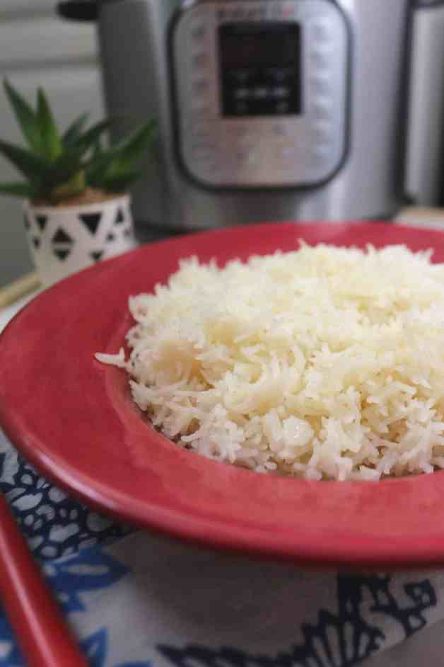 Instant Pot Buttery Basmati Rice