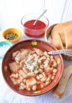 Slow Cooker Menudo #menudo #slowcookermenudo #mexicanrecipes