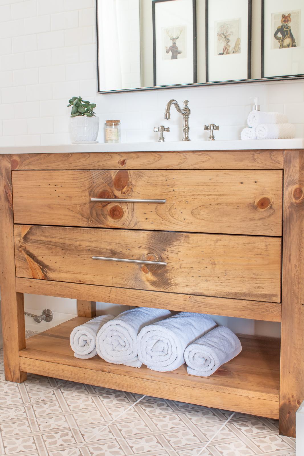 wood bathroom vanity ideas