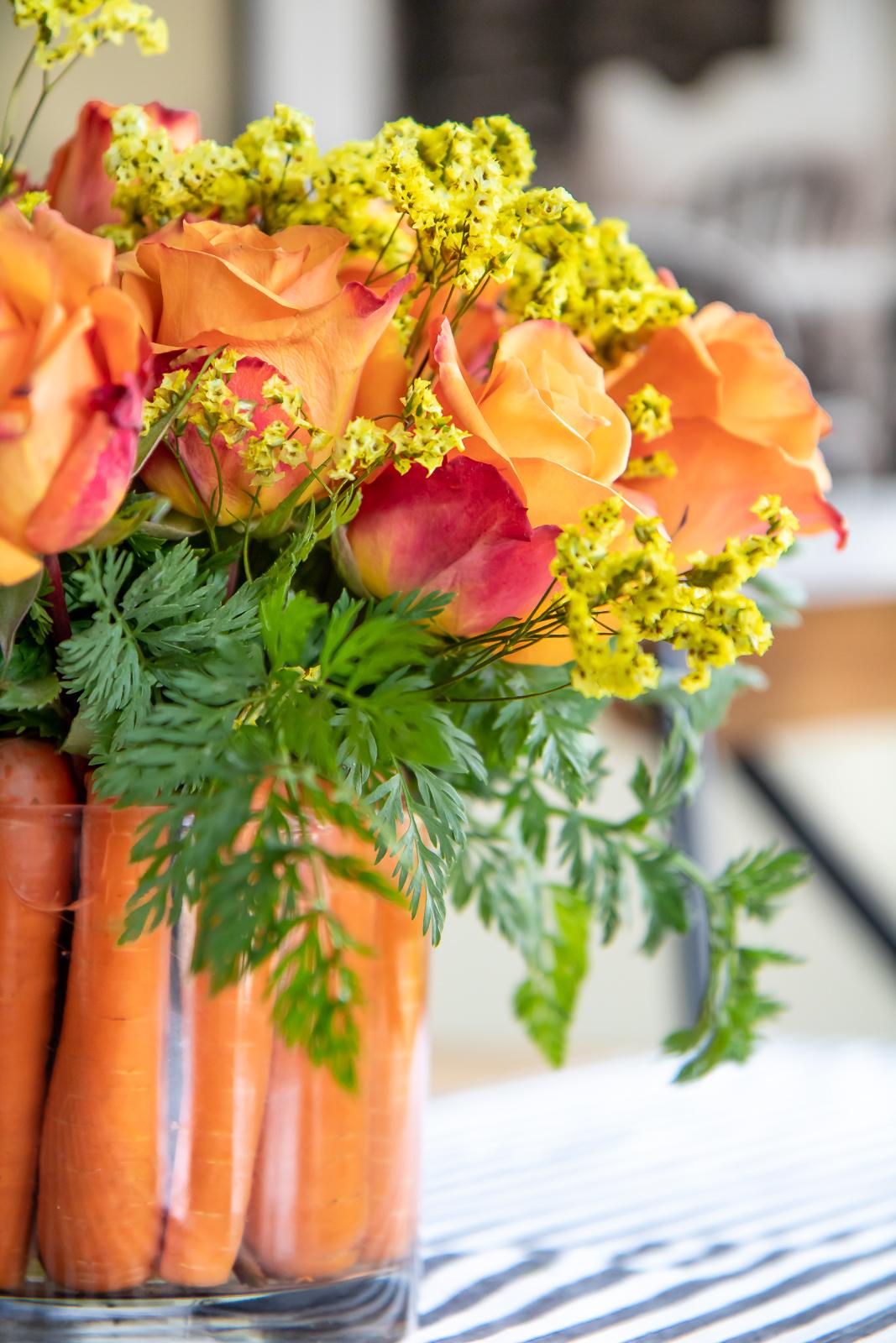Spring time flower arrangements