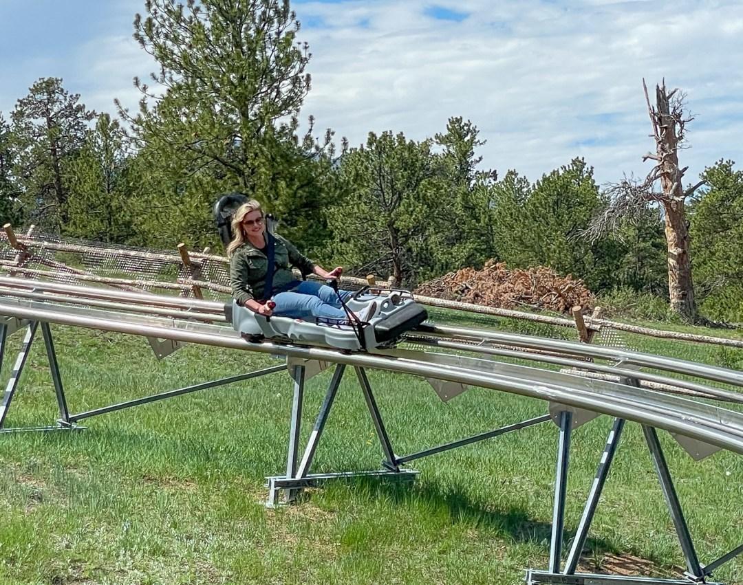 Estes Park Colorado Mustang Mountain Coaster