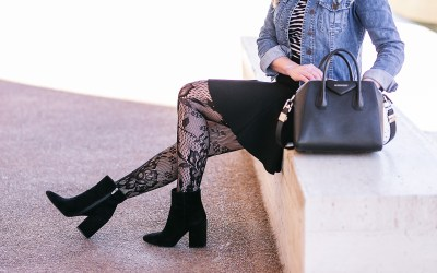HOW TO WEAR PATTERNED TIGHTS LIKE A PRO